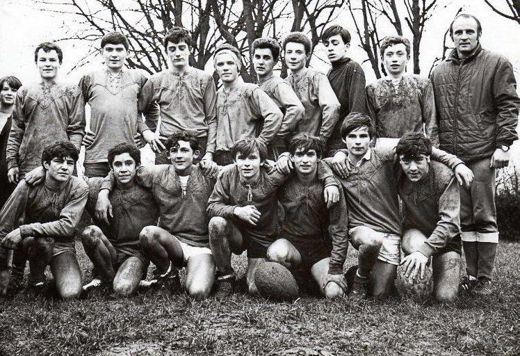 Rugby club RCPN années 60