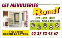 Menuiserie Romet